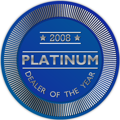 Winner of Platinum Communications Dealer Award 2008