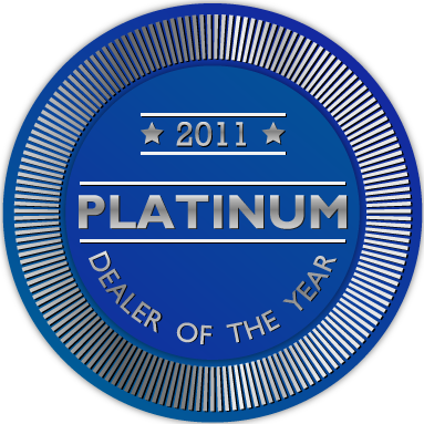 Winner of Platinum Communications Dealer Award 2011